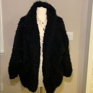 Faux fur coat sz. S
